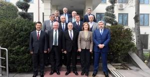 Rektör Erman, Tarım Bakanı Ahmet Fakıbaba İle Bir Araya Geldi