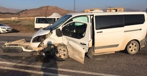 Trafik Kazasında 5 Öğretmen Yaralandı