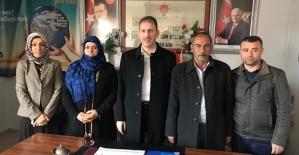 AK Parti İl Başkanı Fuat Özgür Çalapkulu'ya Ziyaretçi Akını