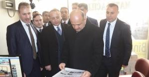 Başbakan Yardımcısı Fikri Işık, Kurtalan İlçesini Ziyaret Etti
