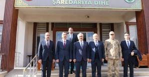 İçişleri Bakan Yardımcısı Mehmet Ersoy, Eruh'u Ziyaret Etti
