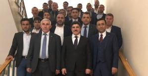 Siirtli Çiftçiler Milletvekilimiz Yasin Aktay'ı Ziyaret Etti