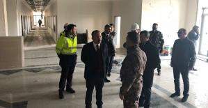 Vali Atik, İl Emniyet Müdürlüğü Yeni Hizmet Binası İnşaatını İnceledi