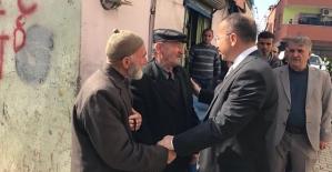 Vali Atik, Tınaztepe ve Ülkü Mahallerinde Vatandaşlarla Bir Araya Geldi