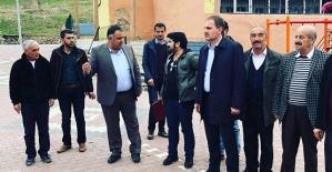 Başkan Özcan'dan Taziye Evi, Yürüyüş Parkuru ve Bisiklet Yolu Projesi