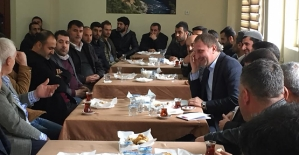 Başkan Özcan, Esnaf ve Belediye Personeliyle Bir Araya Geldi