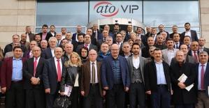 Doğu ve Güneydoğu Anadolu STK Yöneticileri ATO'da Bir Araya Geldi