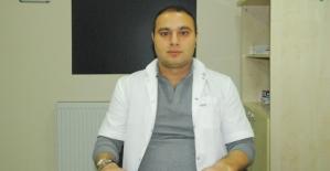 KBB Uzmanı Op. Dr. Sinan Canpolat, Özel Siirt Hayat Hastanesinde