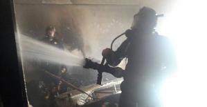 Kız Yurt Binasında Yangın Çıktı