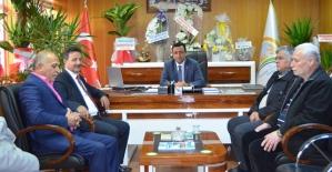 Rektör Erman, Siirt İl Gıda Tarım ve Hayvancılık Müdürü Ergün Demirhan'ı Ziyaret Etti