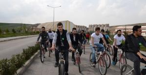 Siirt Üniversitesinde Bisiklet Sürme Etkinliği Yapıldı