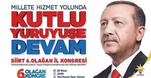 AK Parti İl Başkanı Çalapkulu'dan Kongreye Davet
