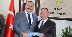 Lokman Özcan, AK Parti'den Milletvekili Aday Adayı Oldu