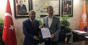 Şefik Erden, AK Parti'den Aday Adaylığını Açıkladı