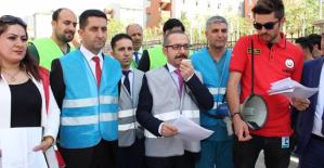 Siirt Devlet Hastanesinde Deprem Tatbikatı Yapıldı