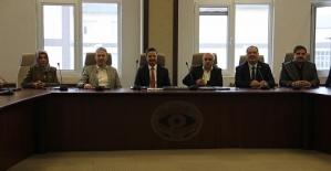 Sivil Toplum Kuruluşlarından Rektör Erman'a Hayırlı Olsun Ziyareti