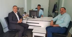 AK Parti Milletvekili Aday Adayı Osman Ören Büromuzu Ziyaret etti