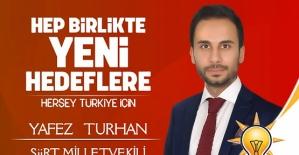 AK Parti'nin En Genç Aday Adayı Yafez Turhan Oldu