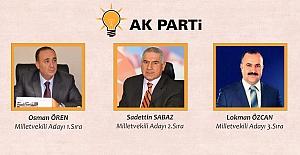 AK Parti Milletvekili Adayları Karşılanacak