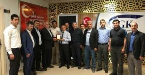 Şehit ve Gazi Aileleri Federasyonundan Kurum Müdürlerine Ziyaret