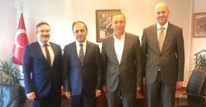 AK Parti Adayı Osman Ören, Başkan Taşkın'la Ankara'da