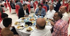AK Parti Milletvekili Adayı Osman Ören'den İftar Yemeği