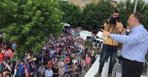 HDP Eş Genel Başkanı Temelli,Siirt ve Kurtalan'daydı