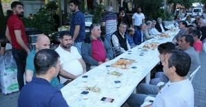 Yalova'daki Siirtliler İftar Yemeğinde Buluştu
