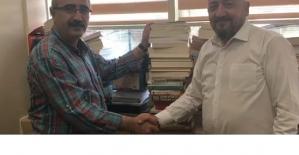 Gazeteci Yazar M.Nuri Yardım'dan Devlet Hastanesine Kitap Desteği
