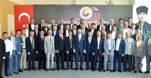 Siirt TSO Başkanı Güven Kuzu, Doğu ve Güneydoğu Anadolu Bölgeleri İstişare Toplantısına Katıldı