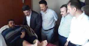 Aktay, Taşkın, Erman ve Çalapkulu'dan Hasta Ziyaretleri