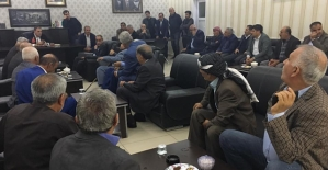 Başkan Özcan, Vatandaşlarla Bir Araya Geldi