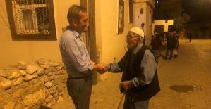 Eruh 'ta Kayyum Belediye Başkanı Dayanç, Halkla Bütünleşti