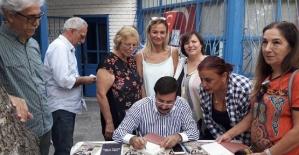 Masalcı Baba Tecelli, Antalya'da Kitapseverlerle Buluştu
