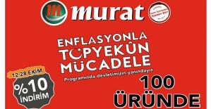 Murat Market'ten Enflasyonla Topyekün Mücadele'ye Tam Destek