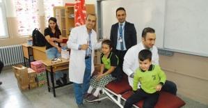 Özel Siirt Hayat Hastanesinden Öğrencilere Ücretsiz Sağlık Taraması