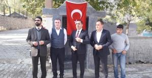 Pervari'de Şehit Polis Cuma Ali Hakan Adına Yaptırılan Hayratın Açılışı Yapıldı