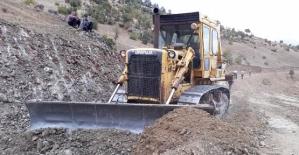 Şirvan Yedikapı İmralı Mezrasına Yeni Yol Yapılıyor