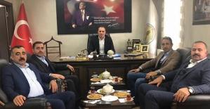 TPAO Bölge Müdürü Demir, Pervari İlçemizi Ziyaret Etti