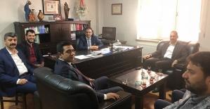 AK Parti Heyetinden Baro Başkanı Dilek'e Hayırlı Olsun Ziyareti
