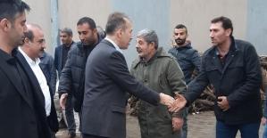 AK Parti İl Başkanı Çalapkulu, Eruh'ta Esnaf Ziyaretinde Bulundu