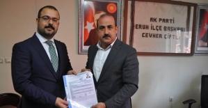 Avukat Umut Dayanan, AK Parti Eruh Belediye Başkan Aday Adayı