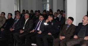 Baykan'da 'Bağımlılık İle Mücadele' Toplantısı Yapıldı