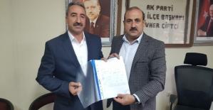 Mehmet Dündar, AK Parti Eruh İlçemizden Aday Adayı Oldu