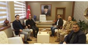 Merkez Valisi Hüseyin Avni Coş, Şirvan Kaymakamı Memiş İnan'ı Ziyaret Etti