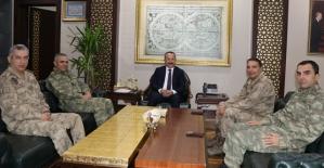 Tuğgeneral Soysal, Vali Atik'i Ziyaret Etti