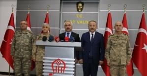 İçişleri Bakan Yardımcısı Ersoy ve Jandarma Genel Komutanı Orgeneral Çetin, Vali Atik'i Ziyaret Etti