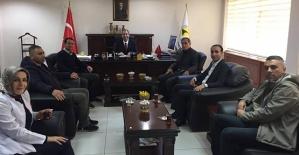 Özel Asema Hospital Yönetimi Tıp Fakültesi Dekanı Prof Dr. Vefik Arıca'yı Ziyaret Etti