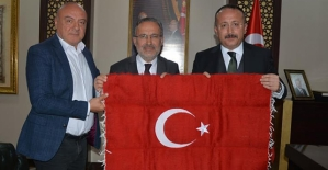 Türk Kızılay'ından, Vali Atik'e Ziyaret