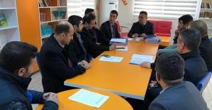 Şirvan'da Devamsız Öğrenciler İçin Toplantı Yapıldı
